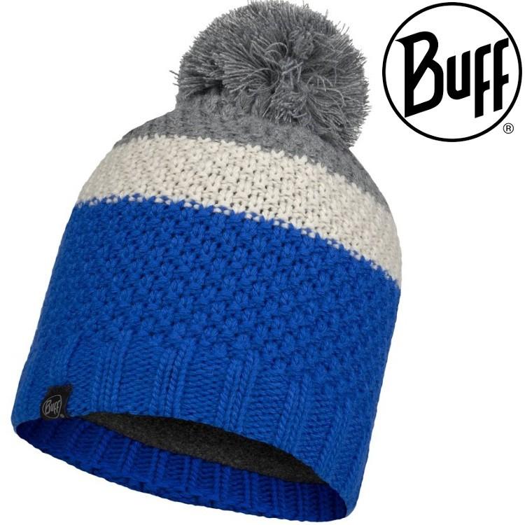 Buff Jav 針織保暖毛球帽/毛帽/保暖帽 120857-760 奧林匹克藍