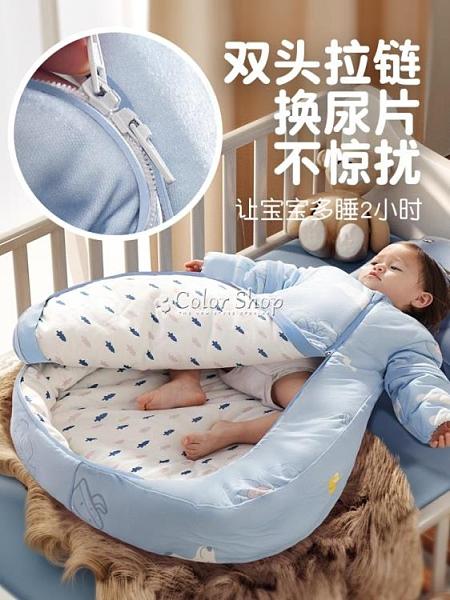 嬰兒睡袋防驚跳寶寶純棉防踢被神器春秋冬季加厚新生兒童四季通用 新年禮物