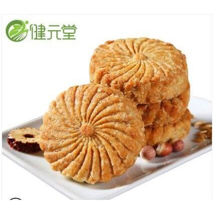 山藥薏米芡實餅乾全麥燕麥壓縮雜糧低零食品-白日夏舊夢