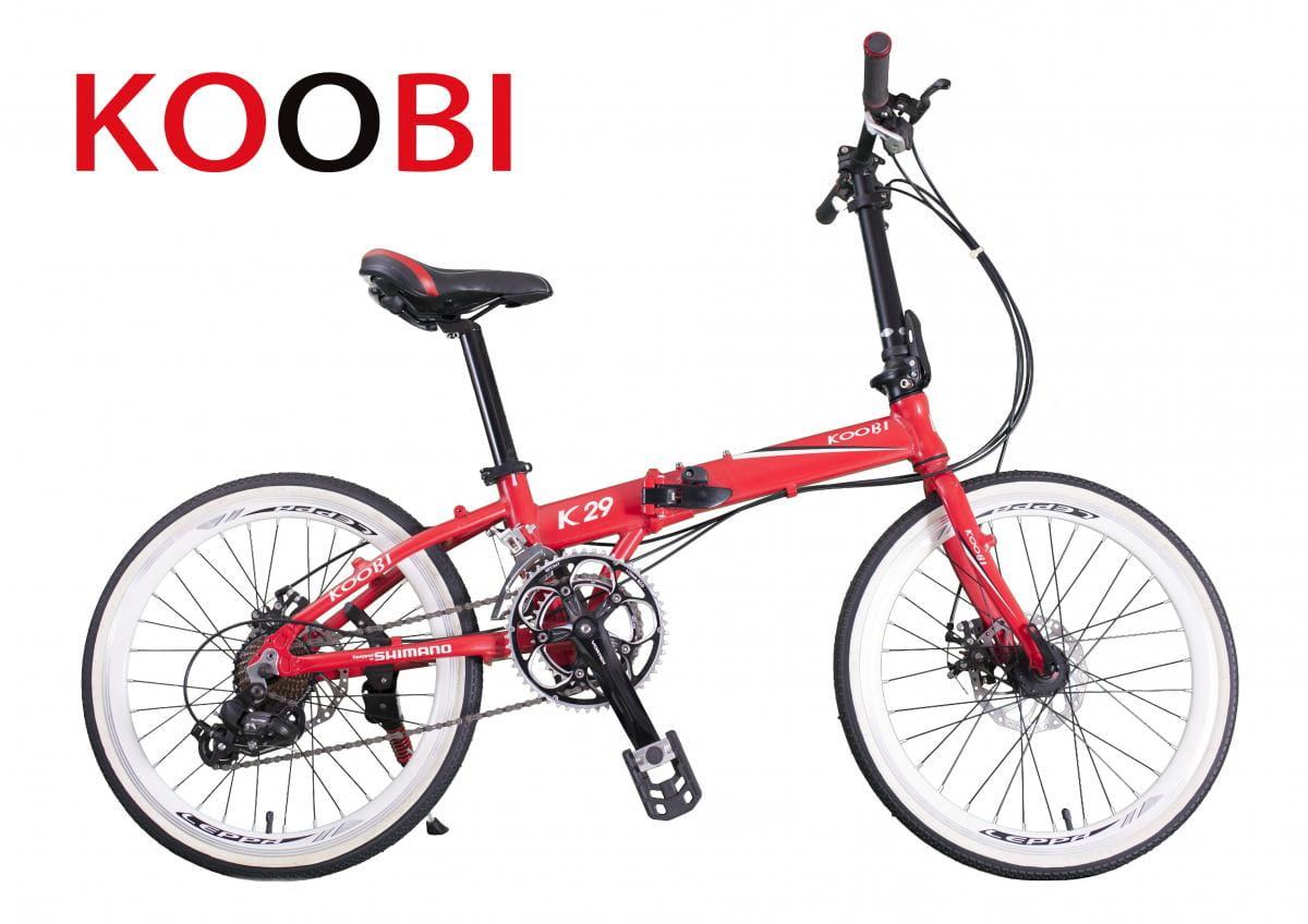 KOOBI GCB18 20吋16速鋁合金摺疊車