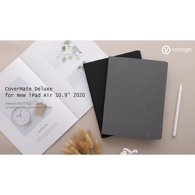 VOYAGE iPad Air 10.9吋(第4代)磁吸式硬殼保護套-深灰
