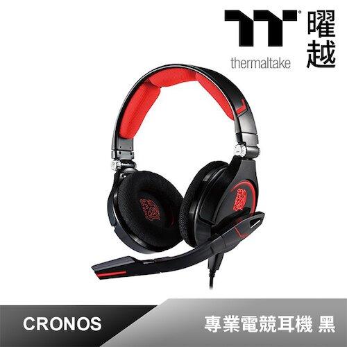 Tt eSPORTS 克諾司CRONOS【進化版】耳罩式 電競耳機(HT-CRO008ECBL)