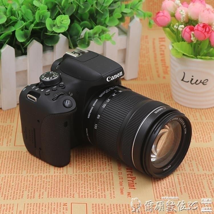 高清照相機佳能EOS750D18-55mm套機入門單反相機旅遊高清相機