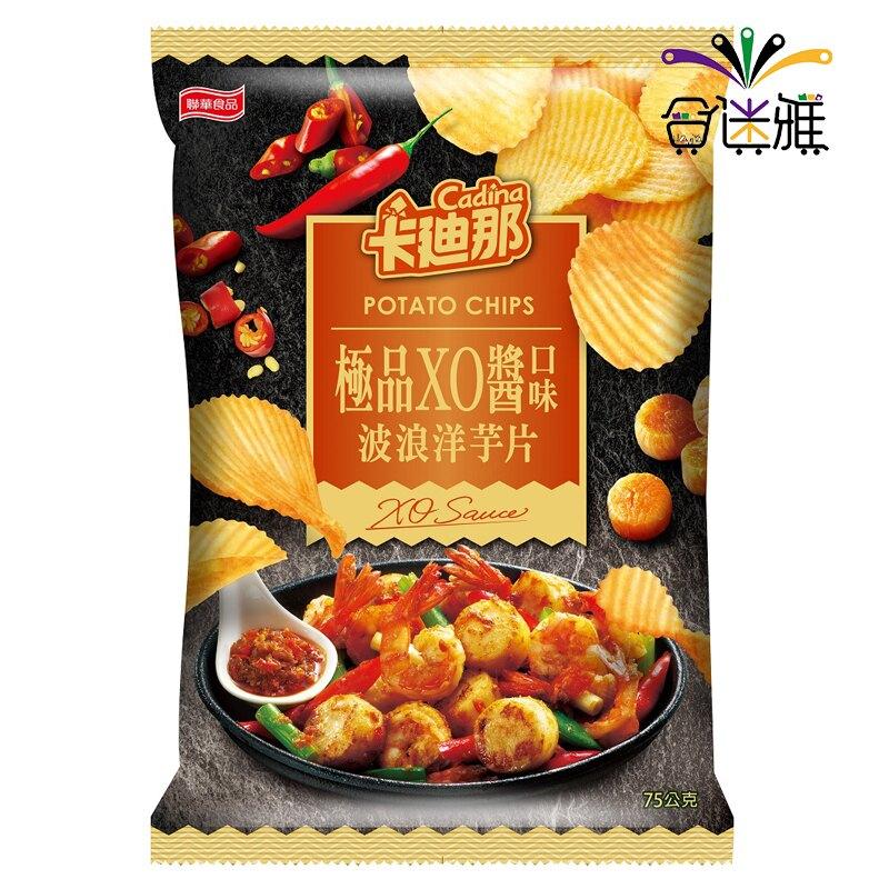 卡迪那波浪-極品XO醬口味75g(12包/箱)