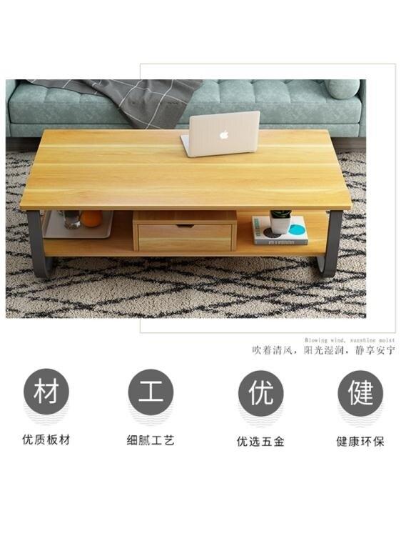 茶几簡約現代客廳創意小茶幾餐桌兩用多功能小茶桌簡易家用小戶型茶臺JD新品來襲 現貨快出