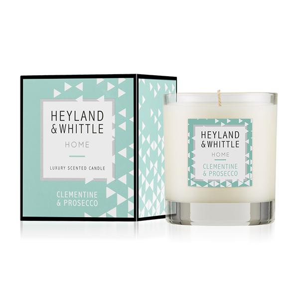 H&W英倫薇朵 HOME系列-甜橙香檳香氛燭 230g