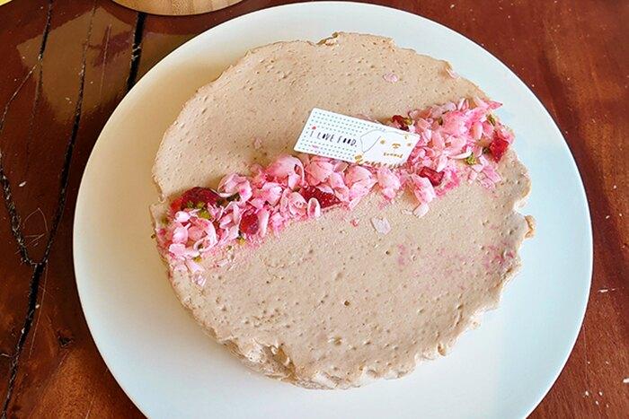 【達克闇黑工場】高個子禾穀米烘焙系列-半熟莓果優格重乳酪/7吋