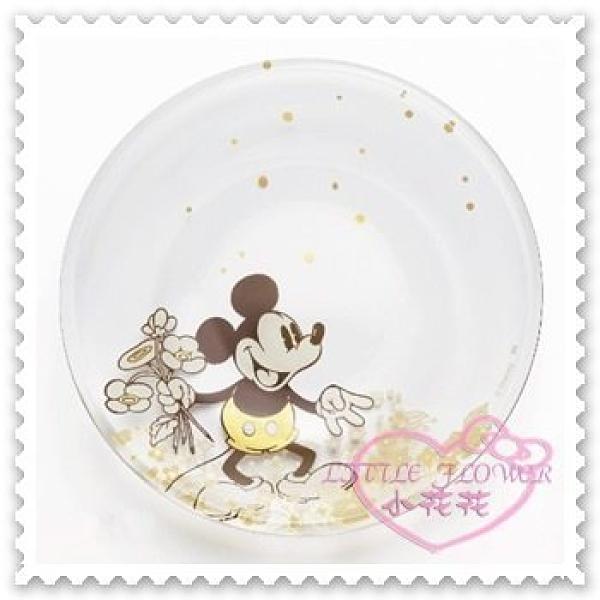 小花花日本精品Hello Kitty 迪士尼米奇米妮玻璃盤小物盤飾品盤對盤日本限定11802501