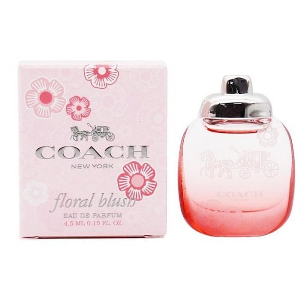 COACH 蔻馳 嫣紅芙洛麗女性淡香精 迷你瓶 4.5ML 黑皮TIME 08157