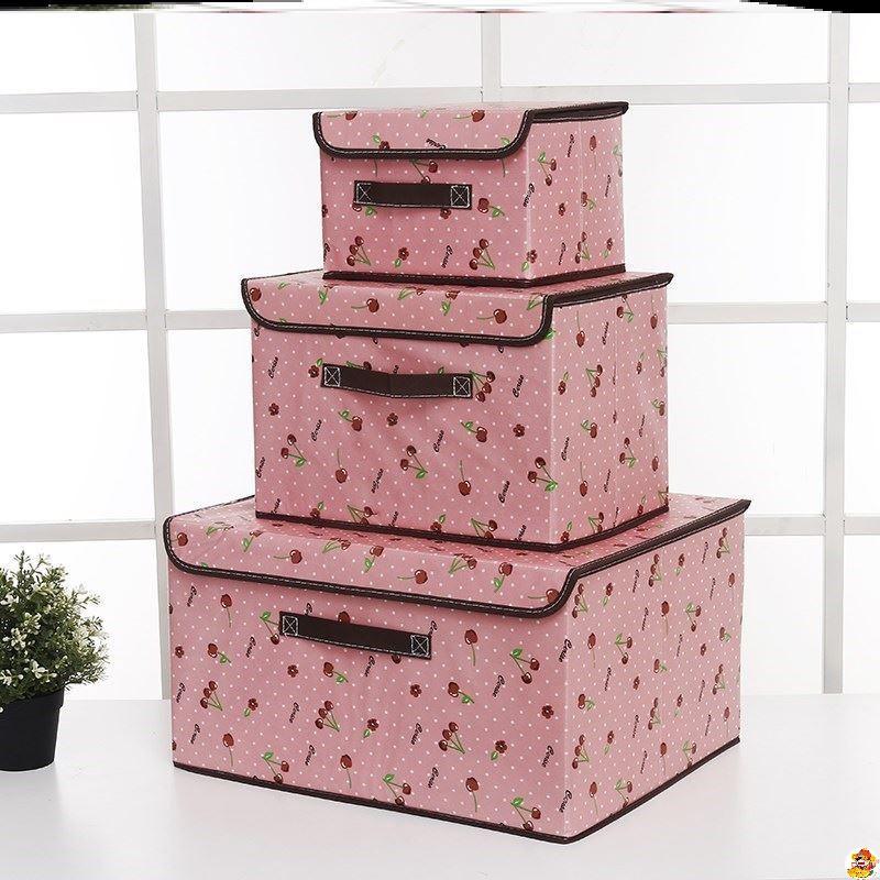 ins-儲衣箱放內衣服收納盒抽屜式布盒子裝內褲箱子摺疊櫃分層小型
