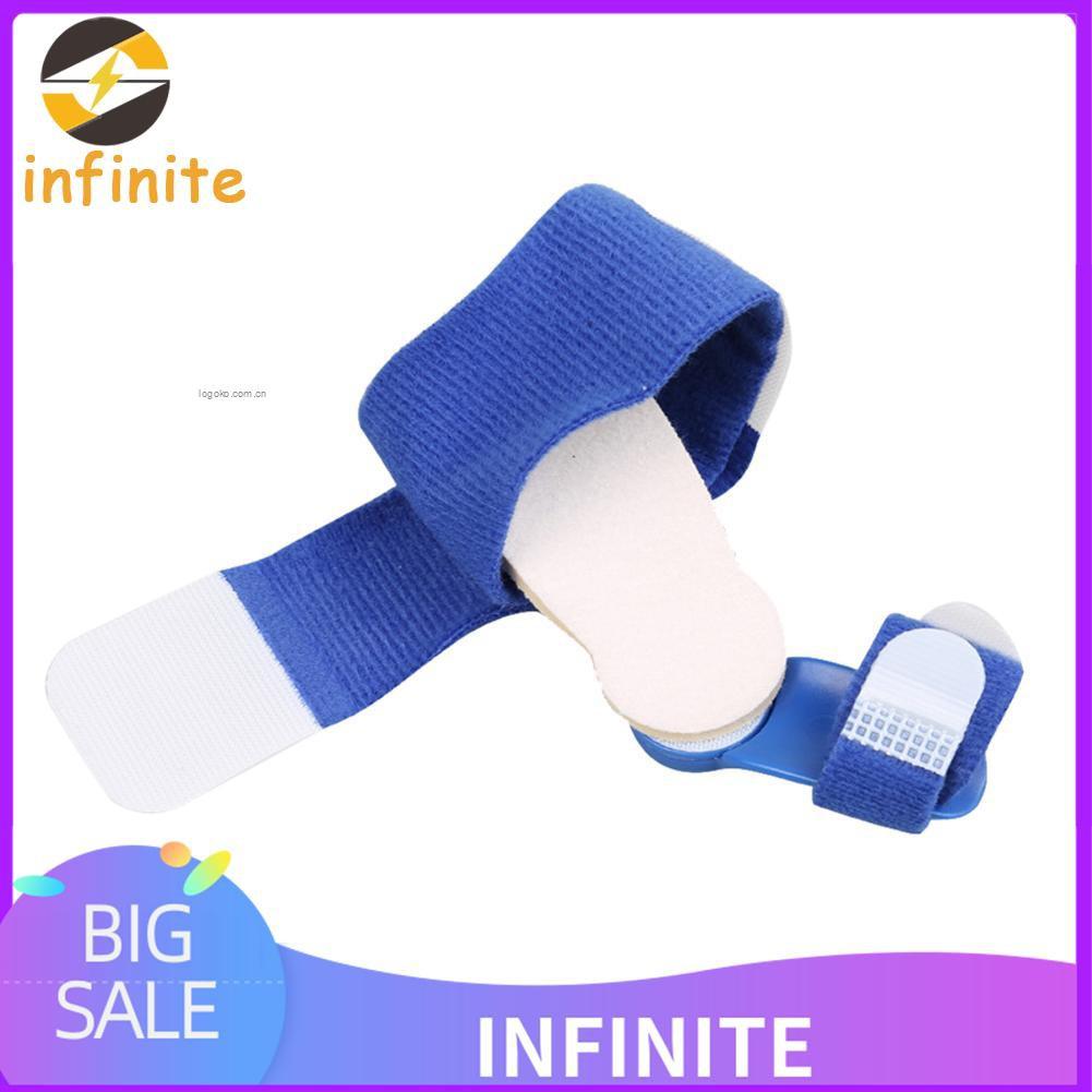 [inifinj]日夜用拇外翻矯正器大腳骨矯正大拇指外翻 藍色糾正帶腳趾矯正器 左右腳都可用