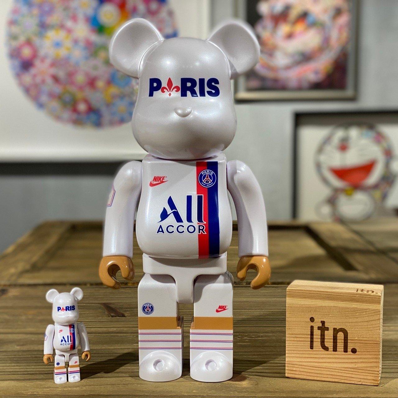 BE@RBRICK PARIS SAINT GERMAIN 巴黎 聖日耳曼 400% + 100%