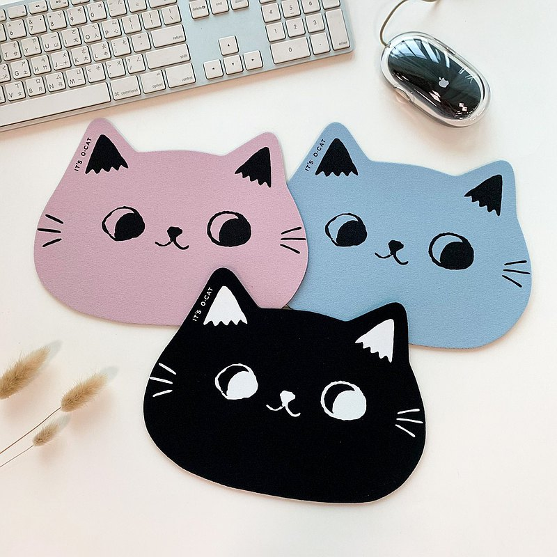 O-CAT-可愛貓耳造型滑鼠墊