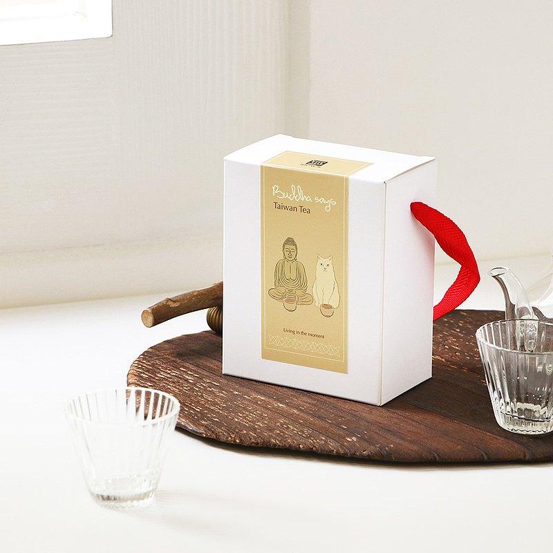 【新年禮物】 佛說茶 - 台灣茶包禮盒(白色)