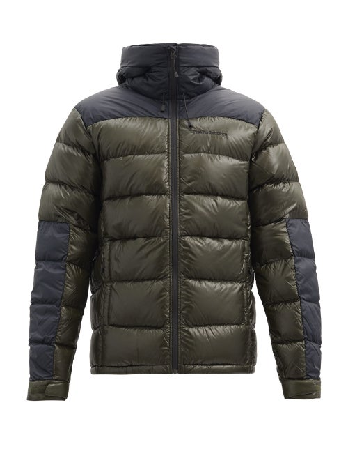Peak Performance - Frost Glacier Hooded Quilted Down Jacket - Mens - Green