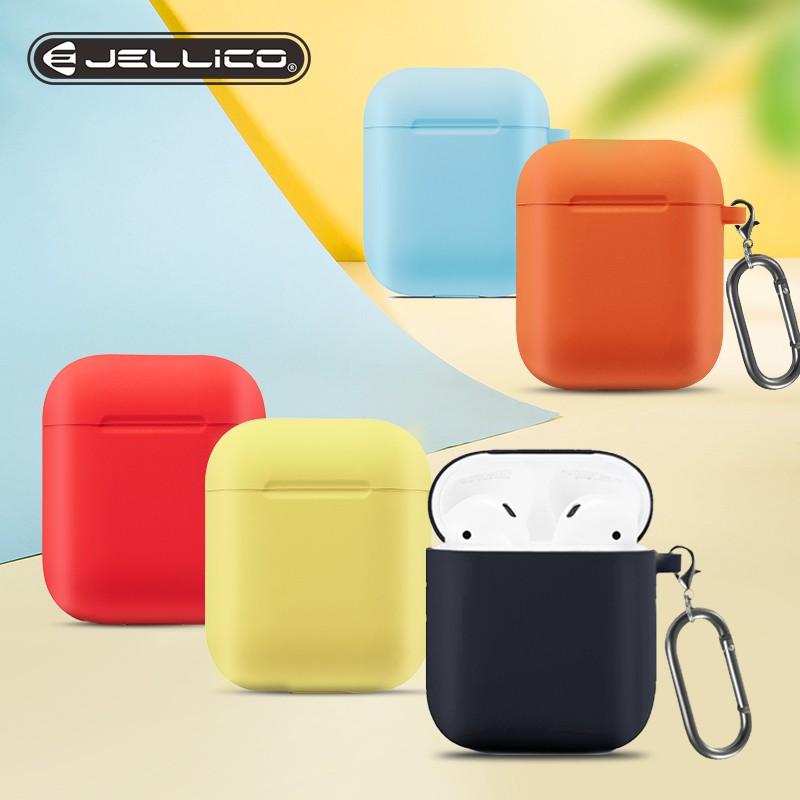 適用於 Apple Airpods Pro 防震套的 Jellico 矽膠套, 用於 Airpods Pro 儲物盒防水