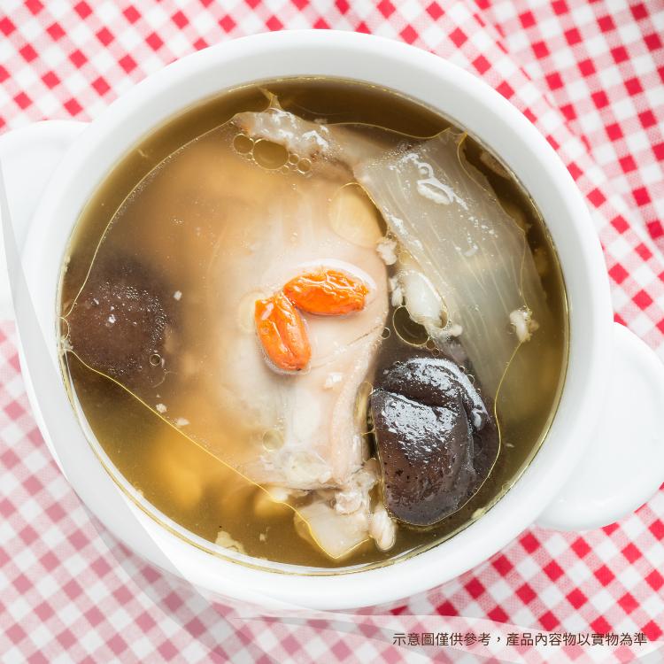 【禦寒鍋物】香菇四物雞湯