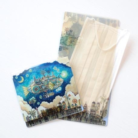 【HUAYUE】日本飛魚鎮口罩夾