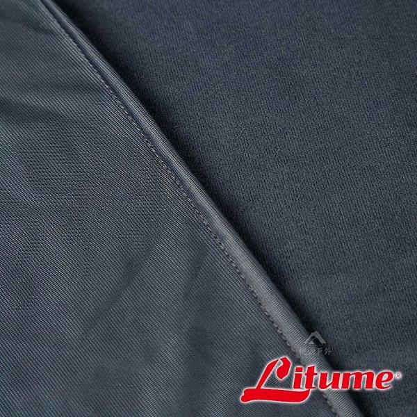 【Litume】天鵝絨旅行毛毯『深藍灰』E650 露營.登山.戶外.度假打工.背包客.自助旅行.居家.旅遊.保暖