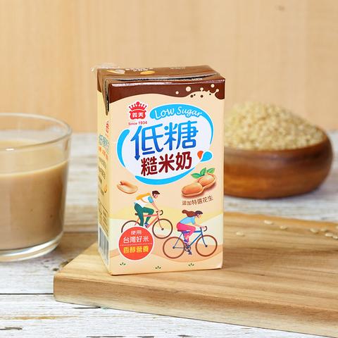 低糖糙米奶(250ml*24入/箱)