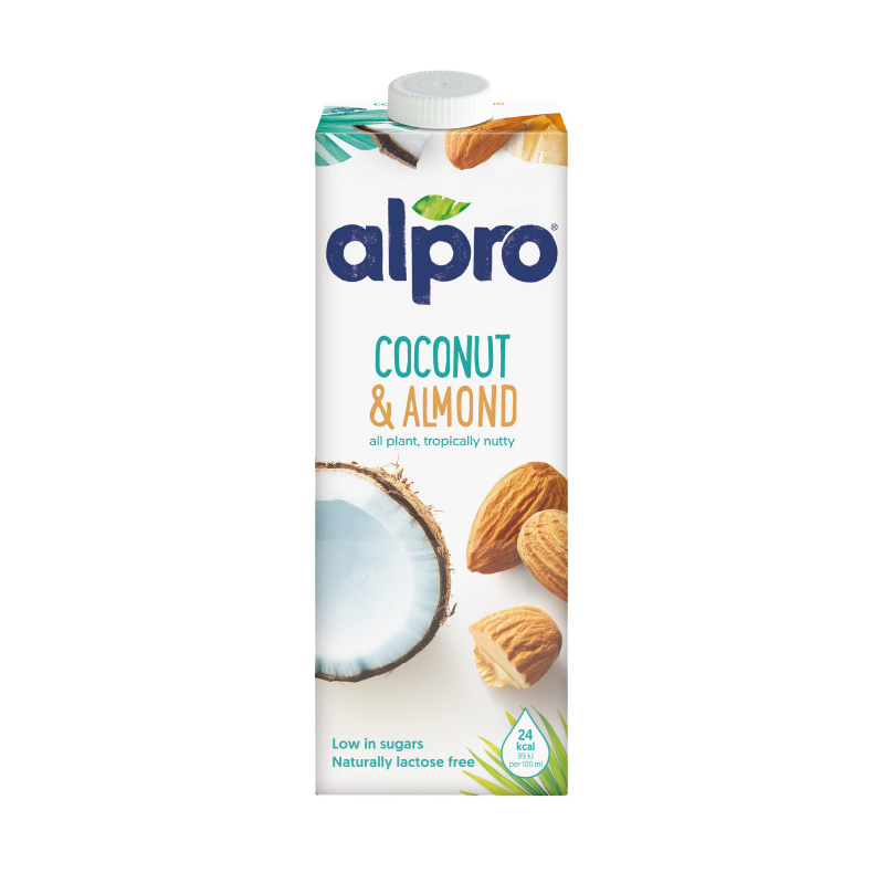 [即期品] [比利時 ALPRO] 椰子杏仁奶 1L (全素) {效期: 2021-04-19}