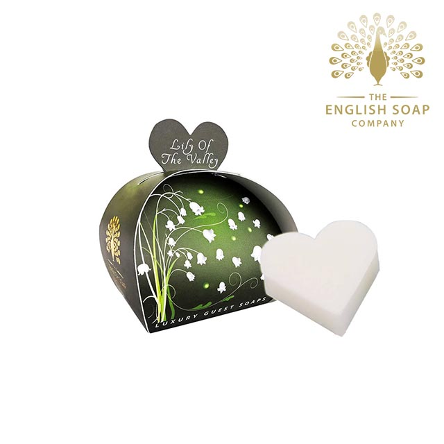 The English Soap Company 山百合 Lily of the Valley 60g 乳木果油植萃香氛皂