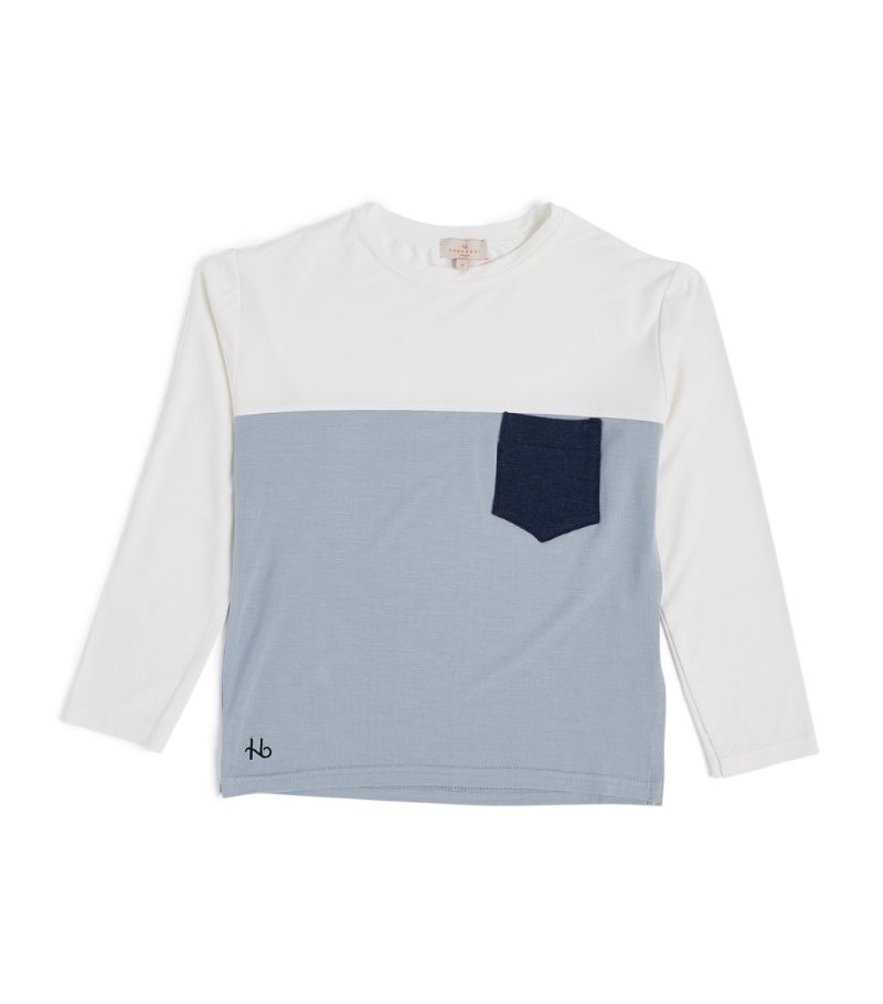 Homebody Kids Colour-Block Long Sleeve Top (4-16 Years)