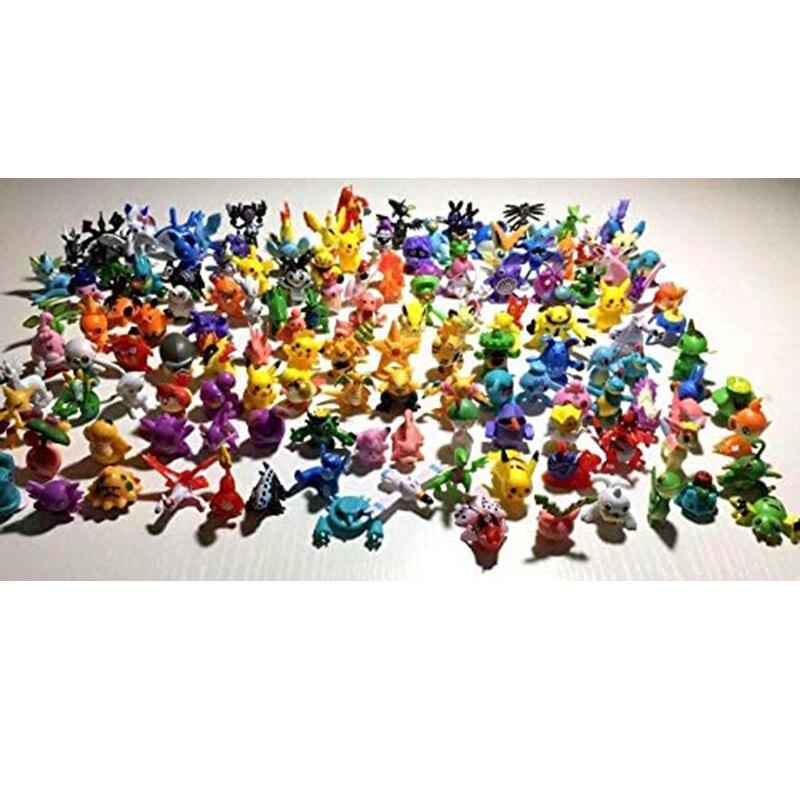 [9美國直購] 迷妳動作人物動漫 144pcs Monster Mini Action Figures Anime Cute Toys for Kids' Gift, for party, birth