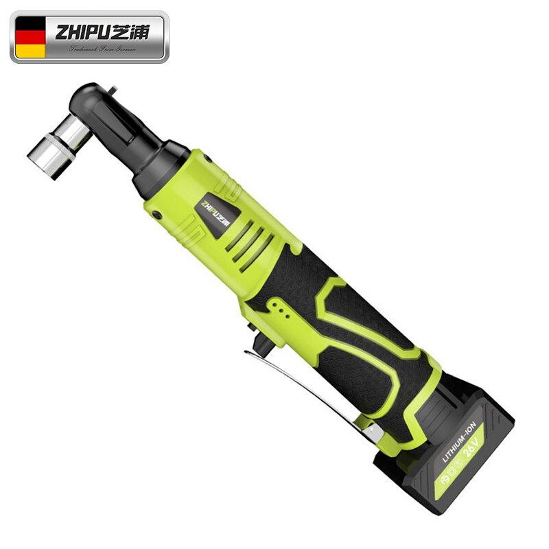 德國芝浦電動棘輪扳手大扭力90度直角桁架快速角向工