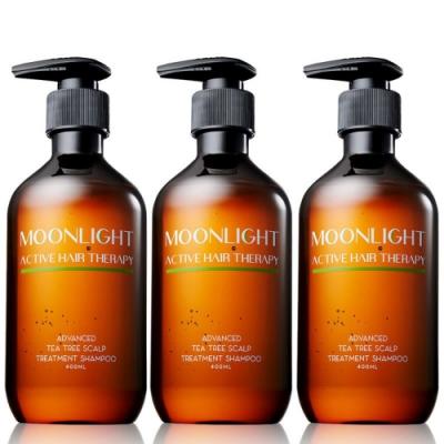 Moonlight 進化版茶樹控油淨化洗髮精 400mL x3