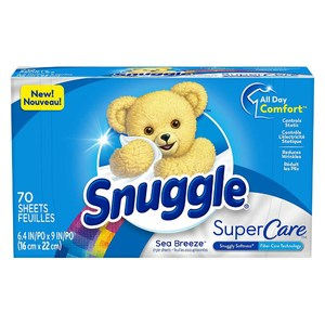 New!【美國 Snuggle】烘乾機香衣片-海洋微風(70片)*3