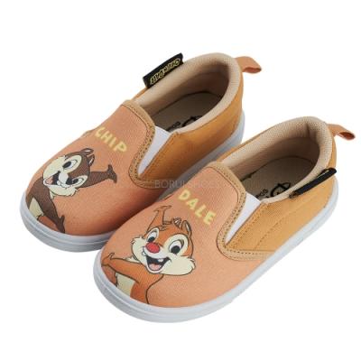 迪士尼童鞋 奇奇蒂蒂  不對稱造型休閒鞋-咖(柏睿鞋業)