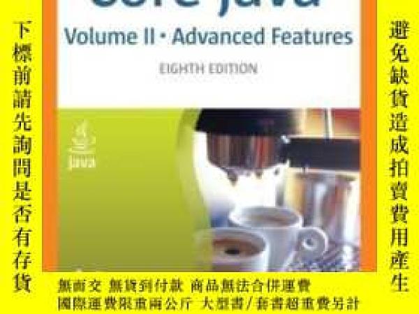 二手書博民逛書店Core罕見Java, Vol. 2Y364153 Cay S. Horstmann Prentice Hal