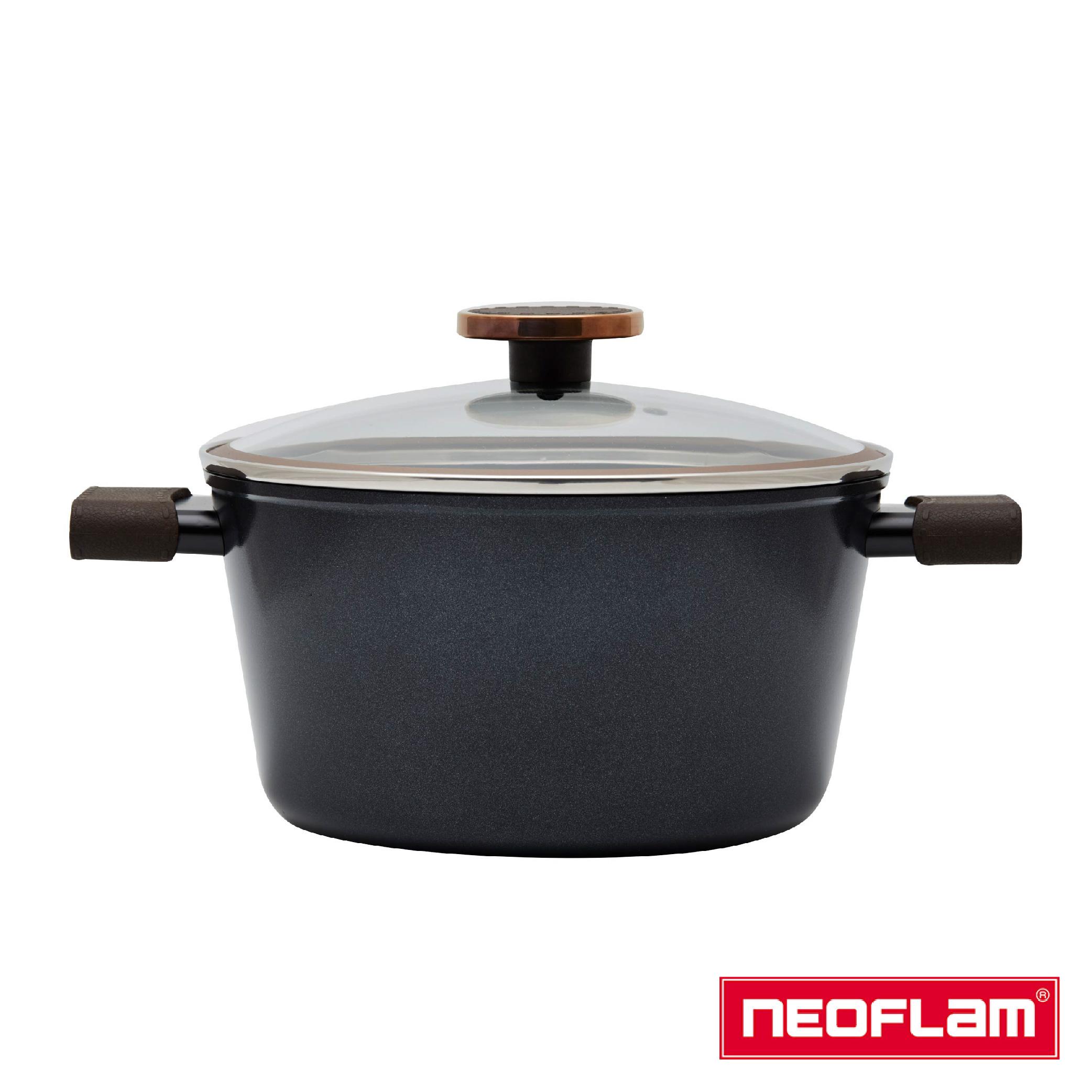 【NEOFLAM】Noblesse大貴族系列雙耳湯鍋20cm電磁底