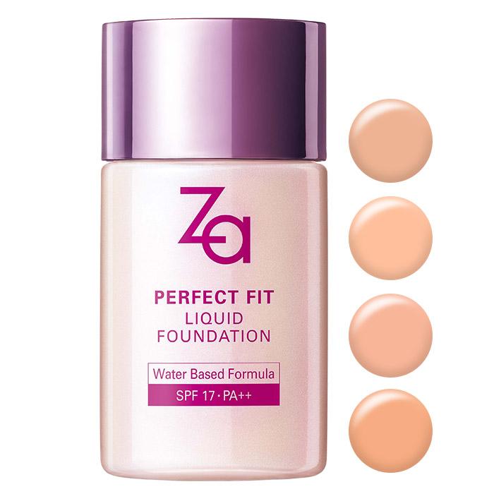 日本 SHISEIDO 資生堂 ZA 裸粧心機輕潤粉底液 SPF17/PA++ 30mL【RJSH296C】
