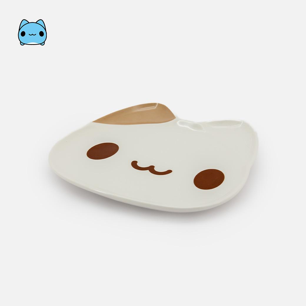 咖波_造型盤-奶泡貓