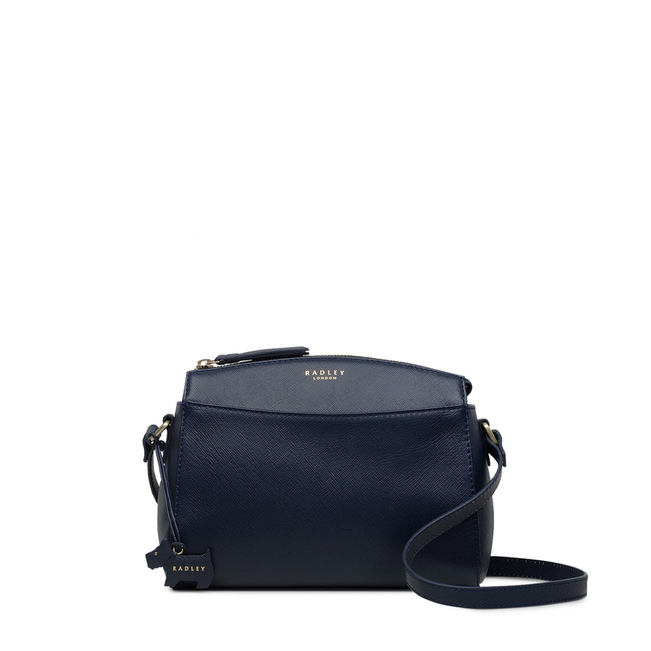 Sandham Medium Zip-Top Cross Body Bag