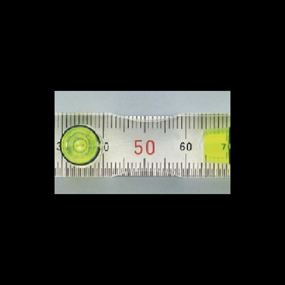 【日本EBISU】水晶平型水平尺-152575㎜ ED-FL 適用於建築.土木.配管.電器