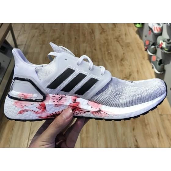 ADIDAS ULTRABOOST 20 CNY 灰白 刺繡 仙鶴 中國風 慢跑鞋 男女鞋 FW4314