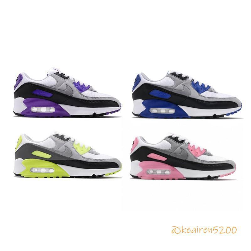 Nike Air Max 90 男女鞋 四色 休閒 復古經典 氣墊 慢跑鞋 CD0881-102/CD0490-102