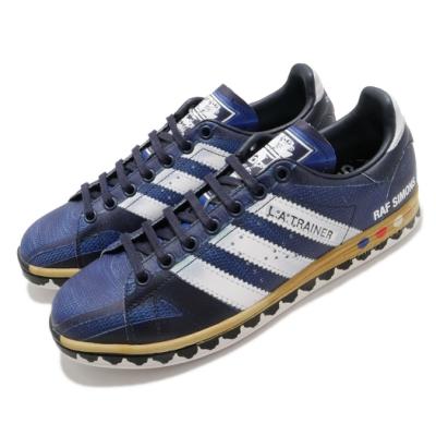 adidas 休閒鞋 RS LA Stan 聯名款 男鞋 海外限定 愛迪達 三葉草 皮革 藍 白 EE7951