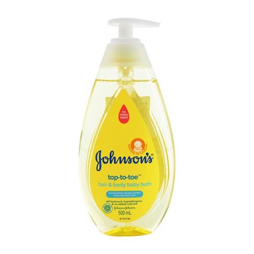Johnsons 洗髮沐浴二合一(500ml)【小三美日】D012413