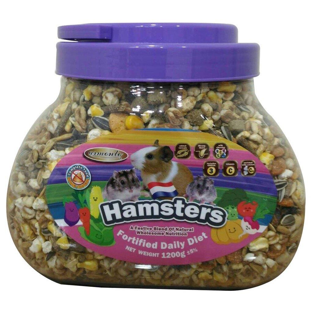 【阿曼特 AM寵物鼠蔬果主食】 Armonto 阿曼特 AM寵物鼠蔬果主食 倉鼠飼料 全鼠類主食 1.2kg