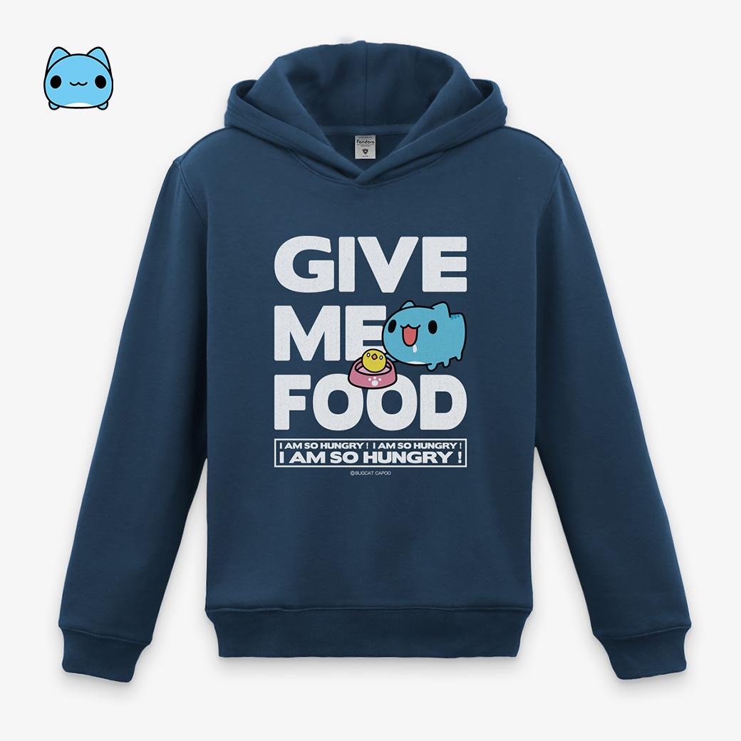 咖波_Give me food 丈青帽T