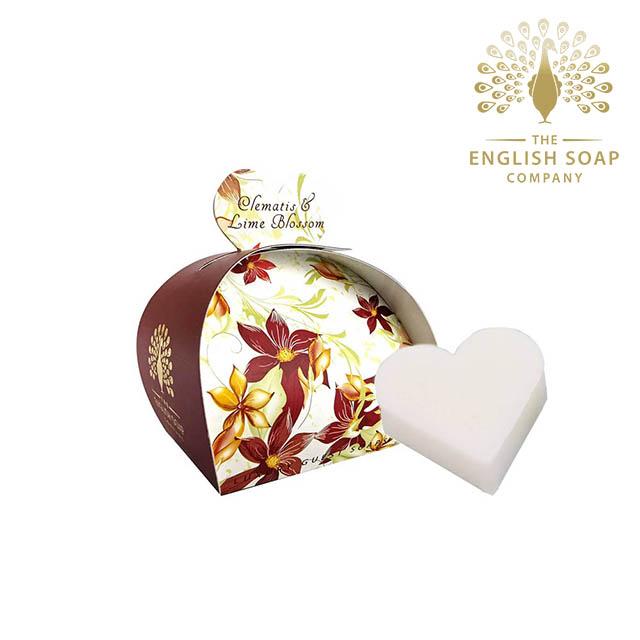 The English Soap Company 橙蓮花 Clematis & Lime Blossom 60g 乳木果油植萃香氛皂
