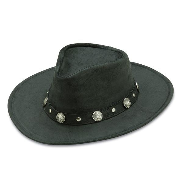 Minnetonka Buffalo Nickel - Leather Australian Hat