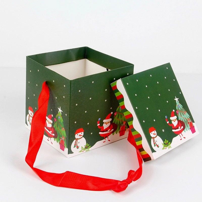 聖誕節禮盒 大中小 裝飾用品 禮物 裝飾 聖誕節 禮盒 佈置 包裝盒 聖誕禮物【HW20】