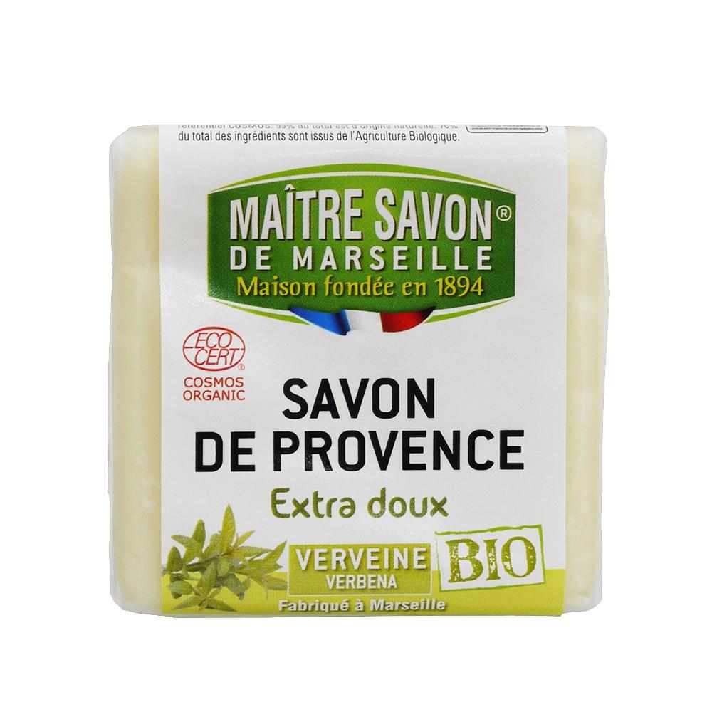 【法國 玫翠思】VERVEINE有機認證植物皂-馬鞭草香味(100g/個)