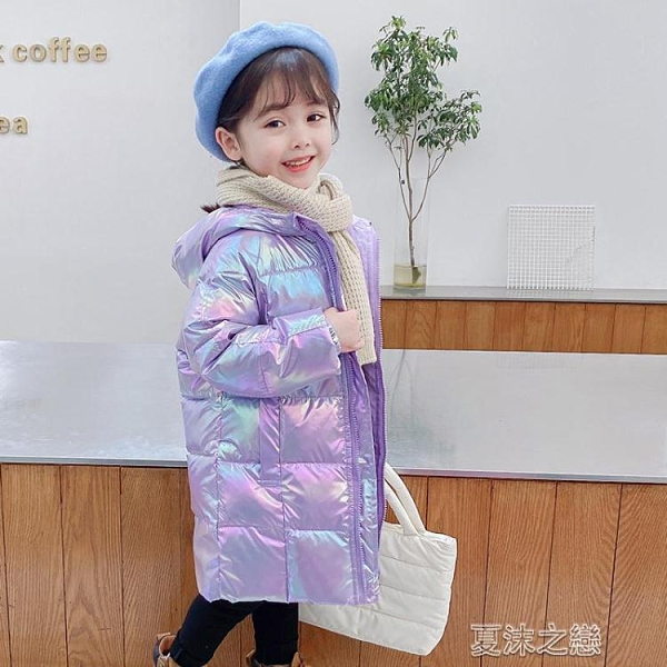 兒童羽絨服 新款兒童羽絨服中長款男女童加厚小孩冬季童裝寶寶外套洋氣 快速出貨