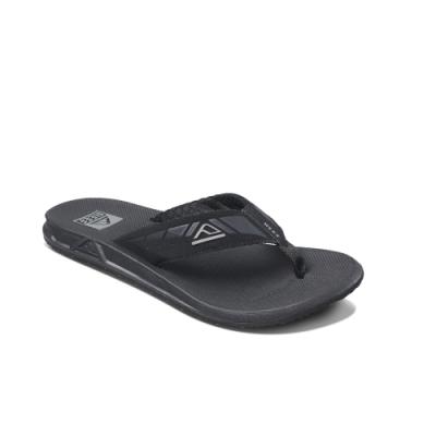 REEF 拖鞋 輕量化合成皮織帶 人字夾腳 男款 RF002046BLA